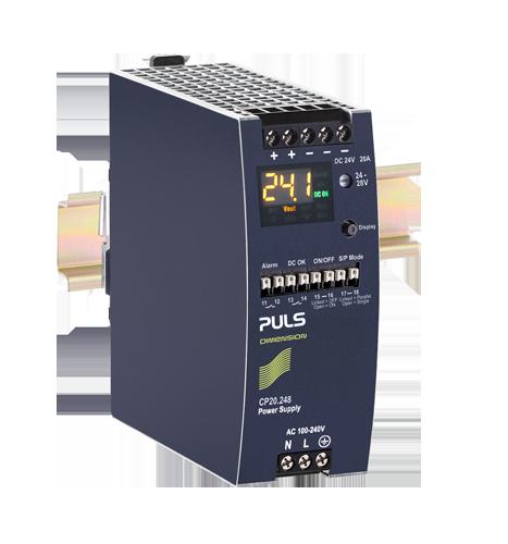 带显示屏的 CP20.248 电源
