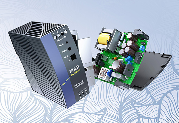 Operating costs decrease thanks to efficient DIN rail power supplies.