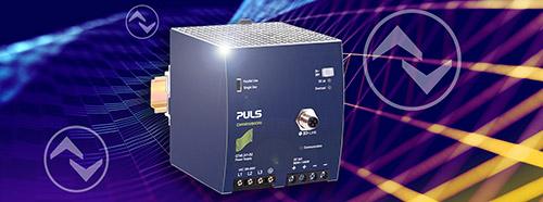 首款采用集成式 IO-Link 接口的 DIN 导轨电源:DIMENSION QT40.241-B2