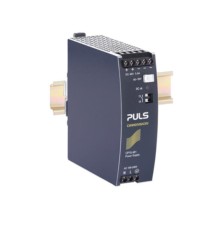 用于 PoE 供应器的 DIN 导轨电源 CP10.481